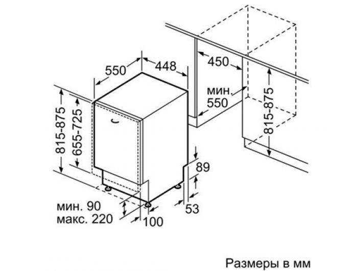 ������������ ������������� ������ Bosch SPV 40E10