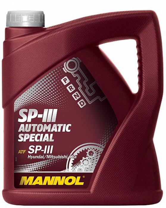 Масло трансмиссионное Mannol (SCT) O. E. M. for Hyundai Kia Mitsubishi ATF SP-III 4л 3042