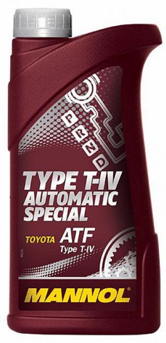 Масло трансмиссионное Mannol (SCT) O. E. M. for Toyota Lexus ATF T-IV 1л 3036
