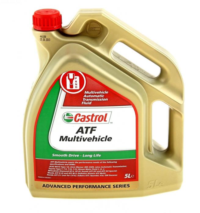 ����� ��������������� Castrol ATF Muitivehicle 5� 154F32