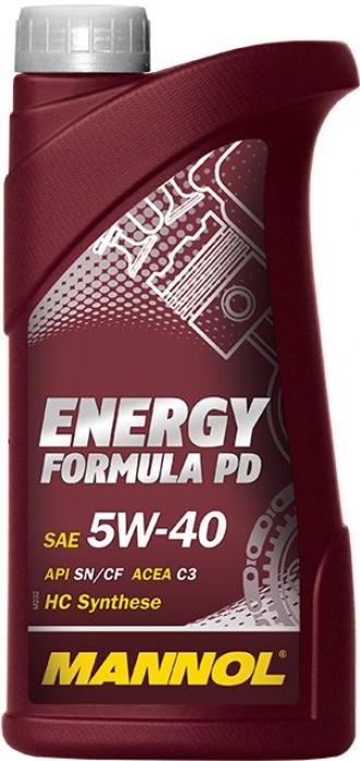 Масло моторное Mannol (SCT) Energy Formula PD 5w40 (1л)