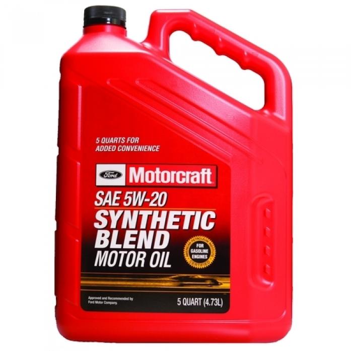 Масло моторное FORD Motorcraft Premium Synthetic Blend 5W-20 (4,73л) XO-5W20-5QSP