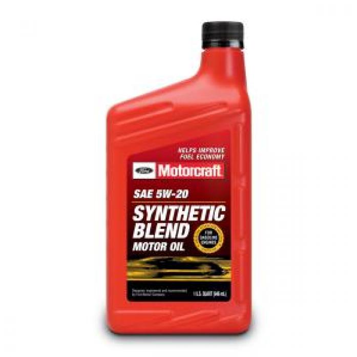 Масло моторное FORD Motorcraft Premium Synthetic Blend 5W20 (946 мл) XO-5W20-QSP