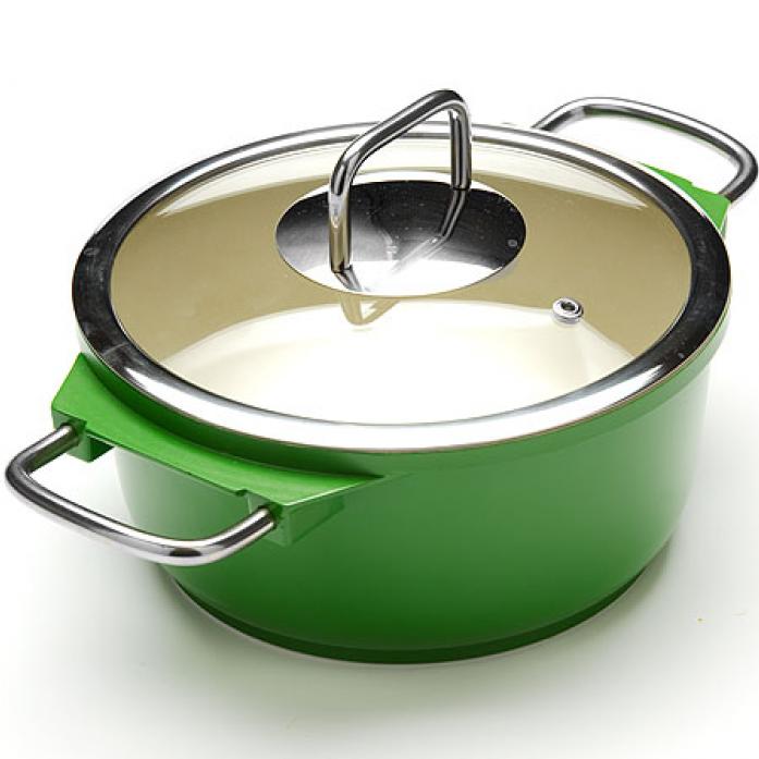 Кастрюля MAYER&BOCH 21236-2 зеленый