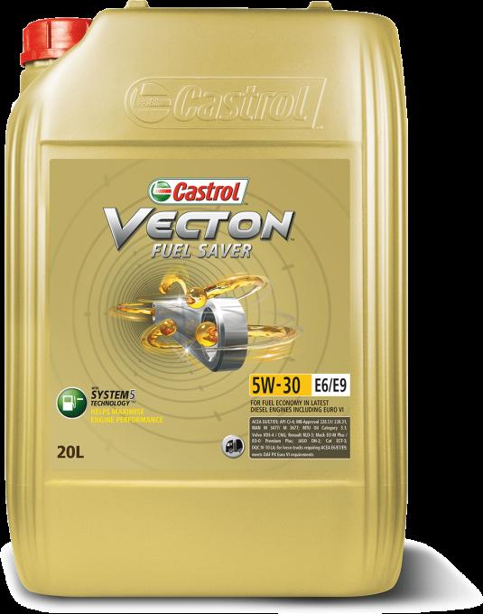����� �������� Castrol Vecton Fuel Saver 5w30 E6/E9 (20�) 157AEA