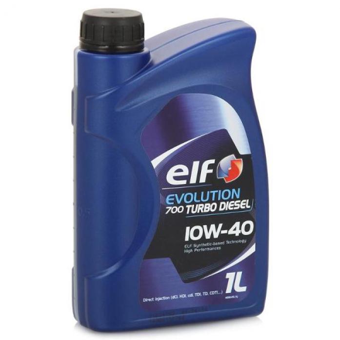 Масло моторное ELF EVOLUTION 700 Turbo Diesel 10w40 (1л)