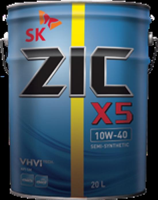 ����� �������� ZIC � 10w40 SM 20� 197144 (������ X5 10W40)