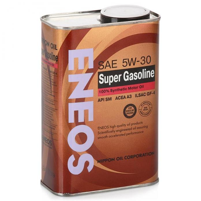 Масло моторное ENEOS Super Gasoline 100% SM 5W30 0,94л