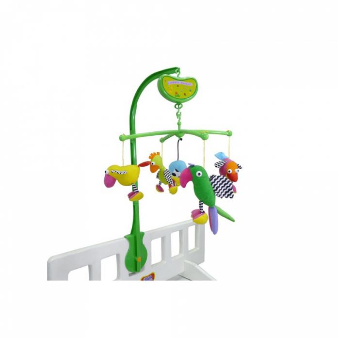 Мобиль Biba Toys Попугайчики CD081