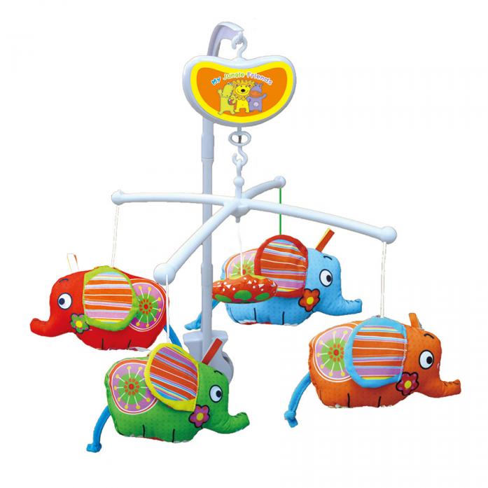 Мобиль Biba Toys Слоники BM118