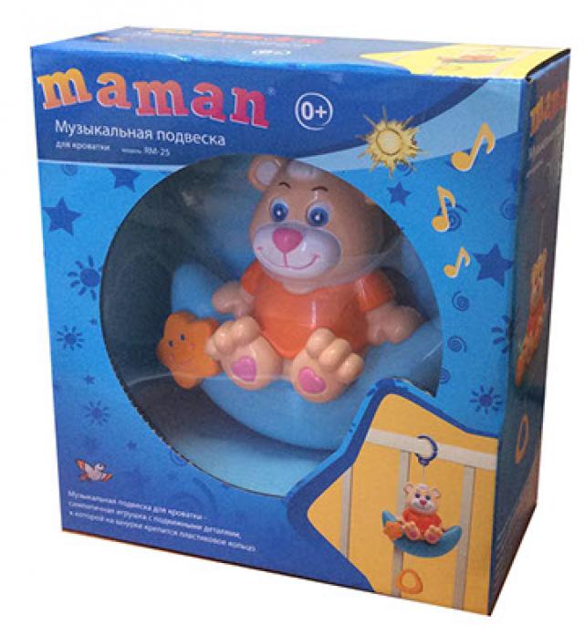 Игрушка-подвеска Maman Музыкальная подвеска RM-25