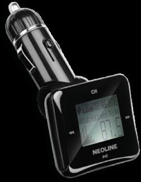 Автомобильный FM-трансмиттер Neoline Bullet FM