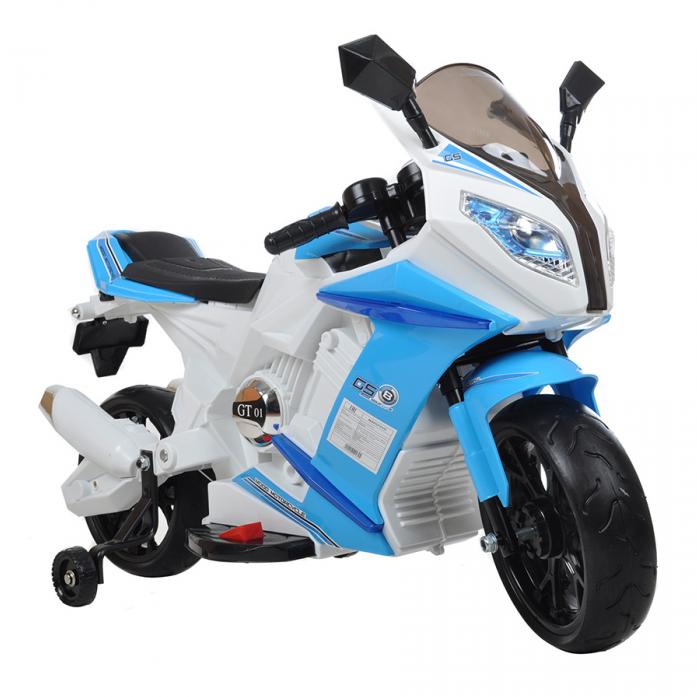 Электро-Мотоцикл Shine Ring SR528 синий