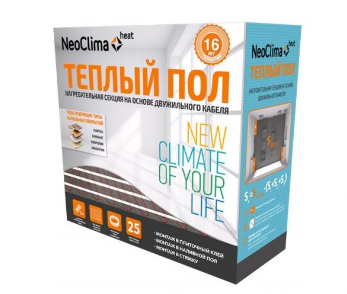 Теплый пол Neoclima N-TC 1095/8.6