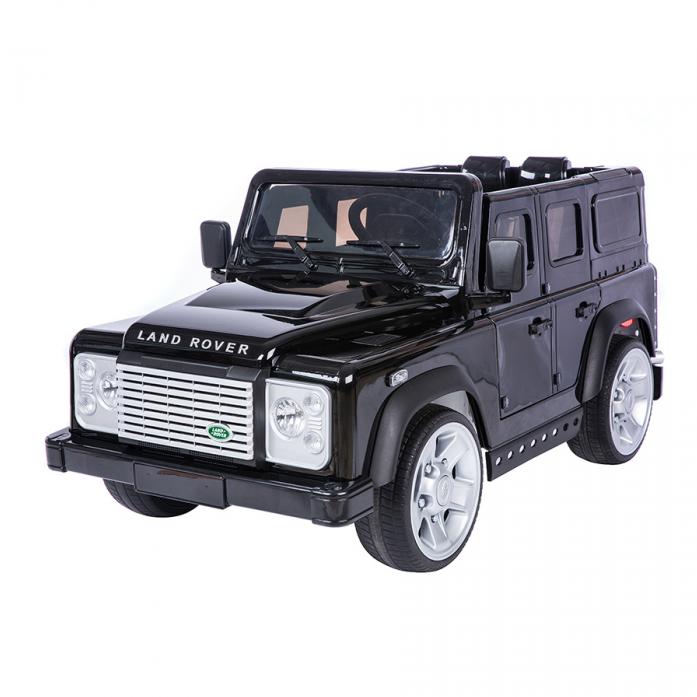 Электромобиль Dongma Land Rover Defender 12V/7Ah DMD-198 черный покраска