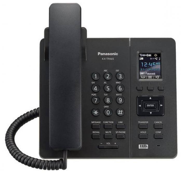 IP телефон Panasonic KX-TPA65RUB