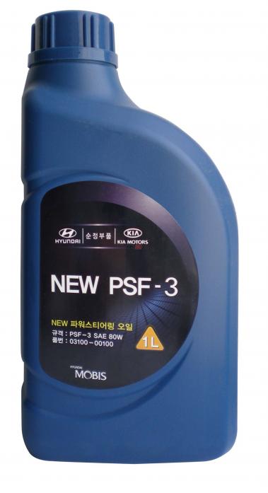 Масло гидравлическое Hyundai PSF-3 SAE 80W 1л 03100-00100