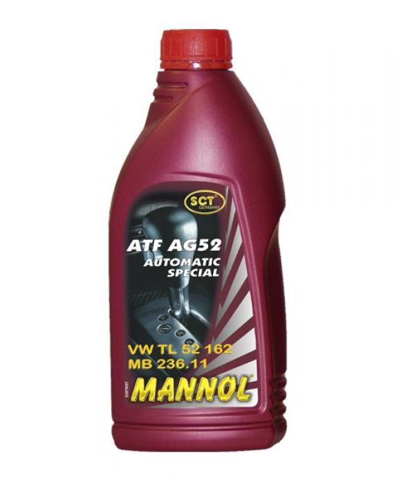 Масло трансмиссионное Mannol (SCT) Automatic Special ATF AG52 1л 1339