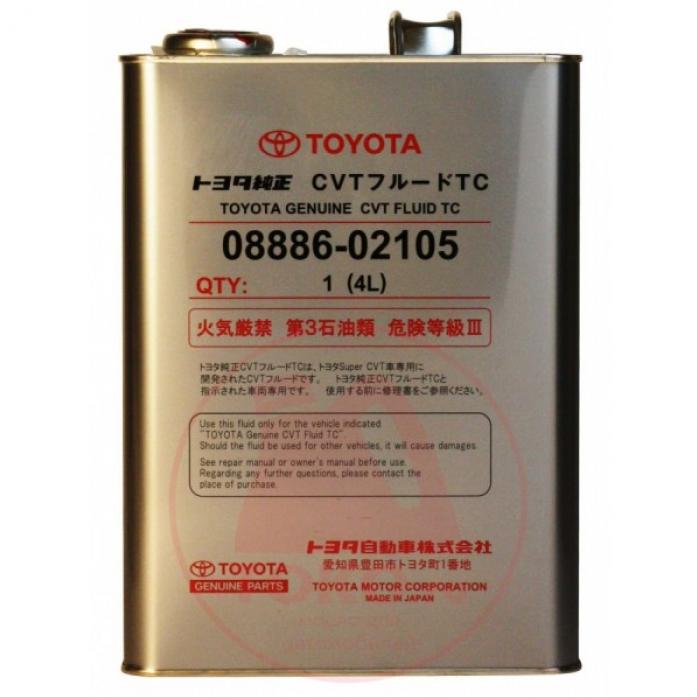 ����� ��������������� TOYOTA CVT FLUID TC 4� (������) 08886-02105