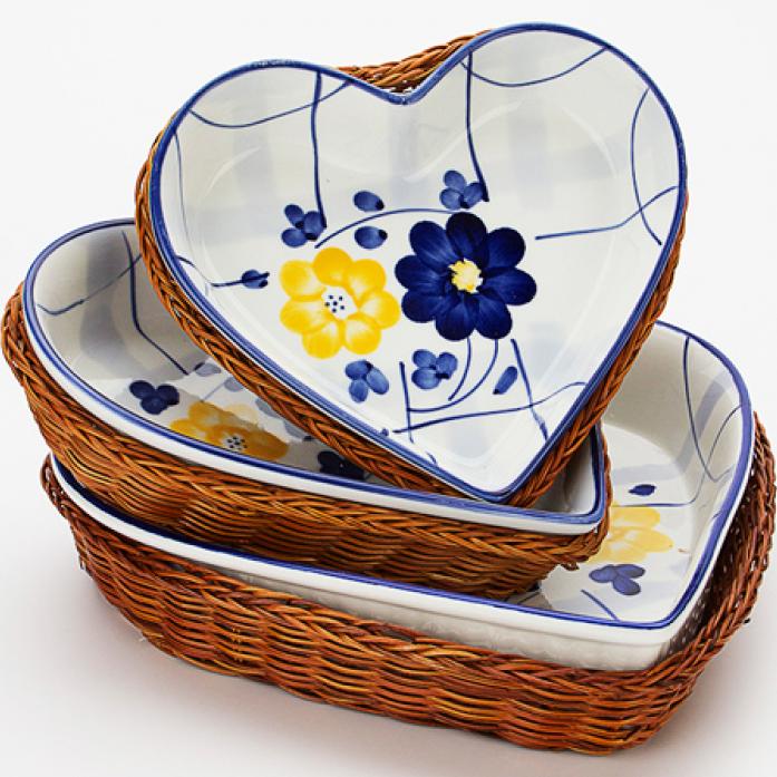 Набор посуды MAYER&BOCH MB-9284 Сердце