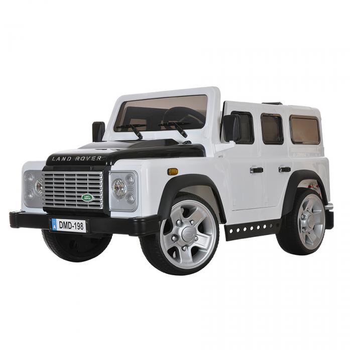 Электромобиль Dongma Land Rover Defender DMD-198 белый