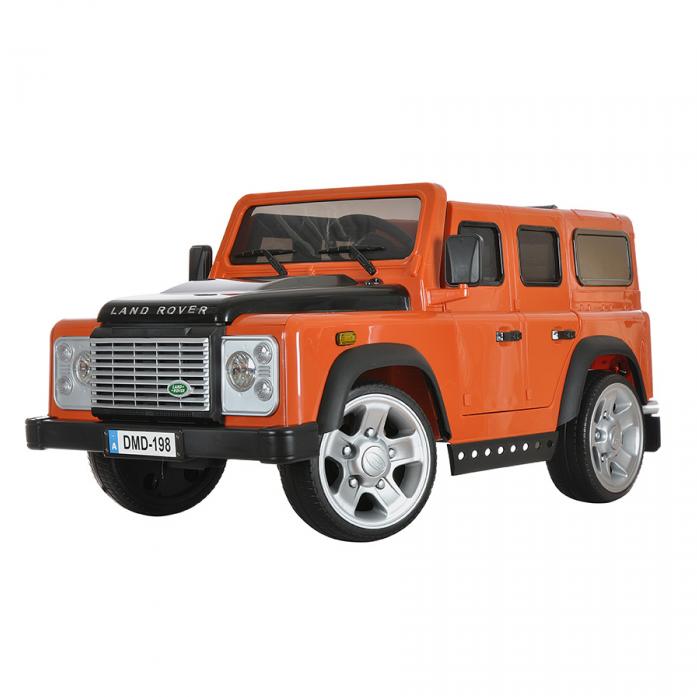 Электромобиль Dongma Land Rover Defender DMD-198 оранжевый