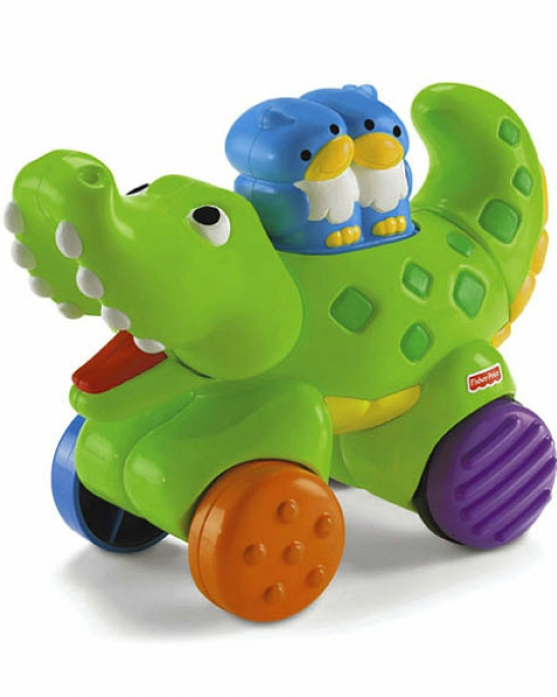 Игрушка-каталка Fisher-Price Крокодил