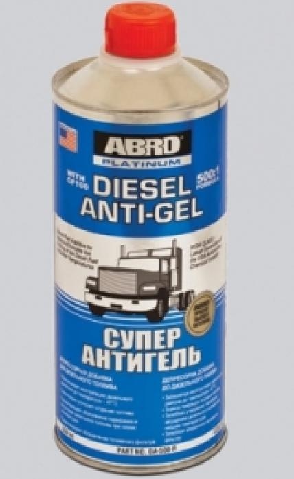 Антигель ABRO для дизельного топлива концентрат Платинум DA-500R 967мл DA-500R