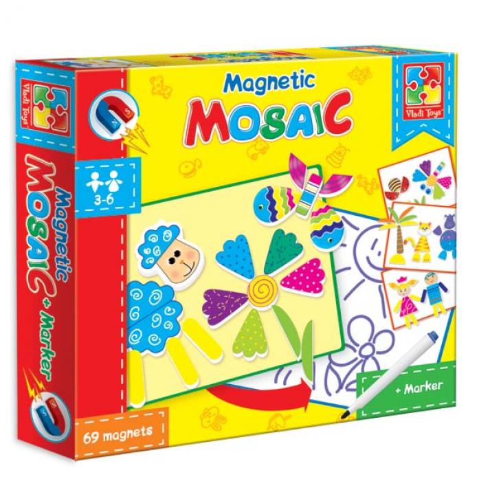 Мозаика магнитная Vladi Toys Овечка VT3701-01