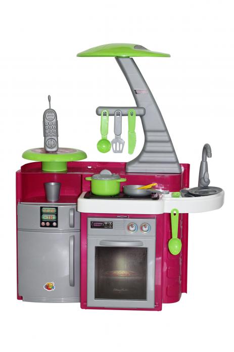 Игровая кухня Полесье Laura с варочной панелью 49896
