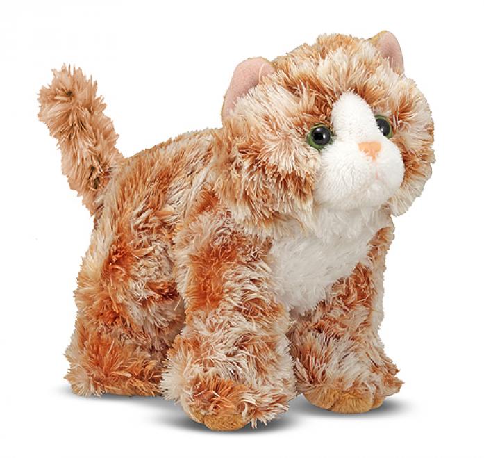Мягкая игрушка Melissa&Doug Рыжий кот Трикси 13см7540