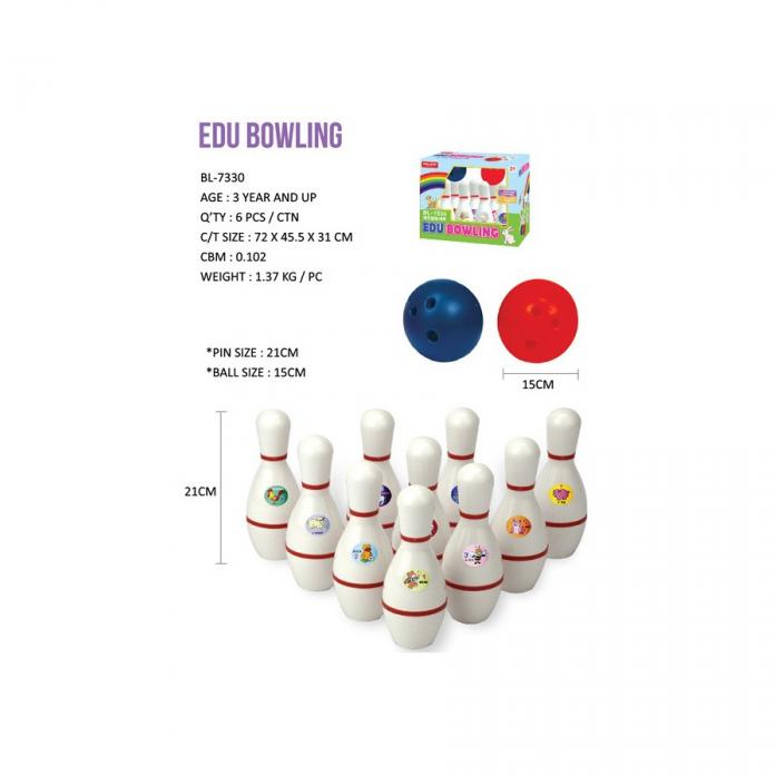 Набор для боулинга Edu-Play EDU