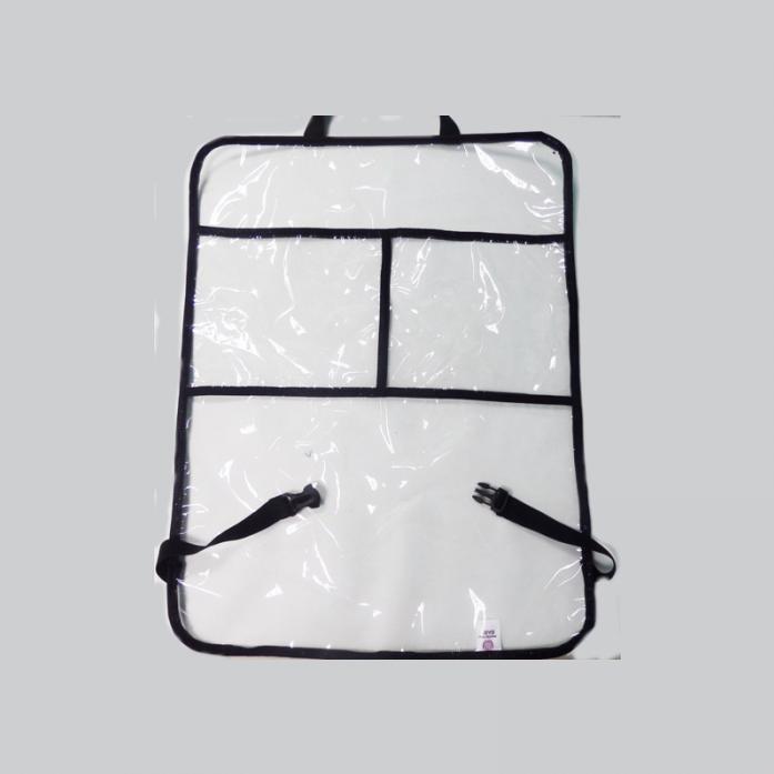 Защитная накидка на спинку переднего сиденья автомобиля ProtectionBaby Карманы PB-009