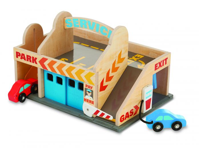 Игровой набор Melissa&Doug Классические игрушки: Автостоянка 9271