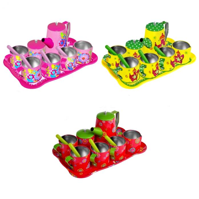 Набор игрушечной посуды 1toy Я сама 14 предметов Т57243