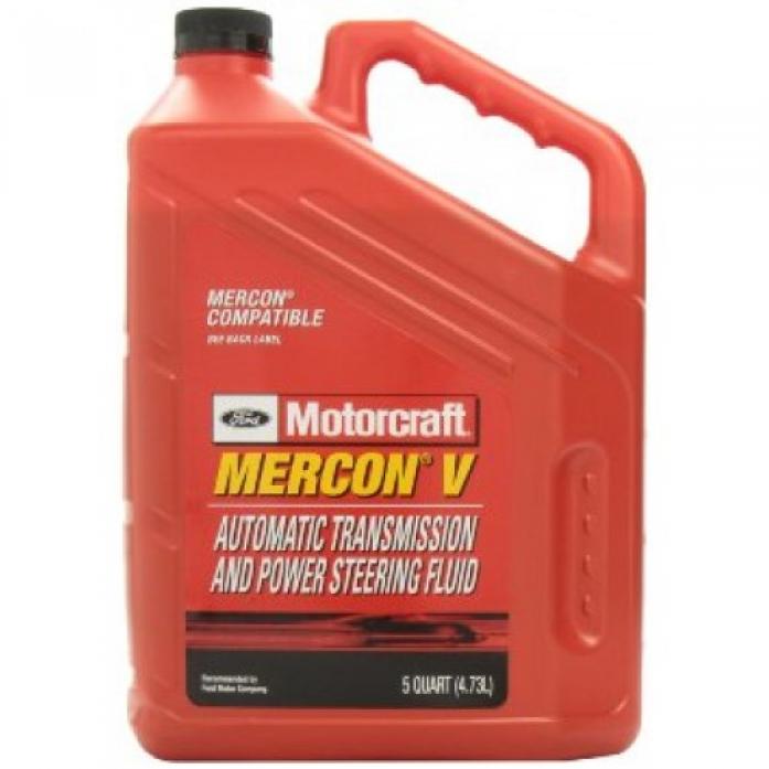 Масло трансмиссионное FORD Motorcraft Mercon V ATF 4,73л XT-5-5QM