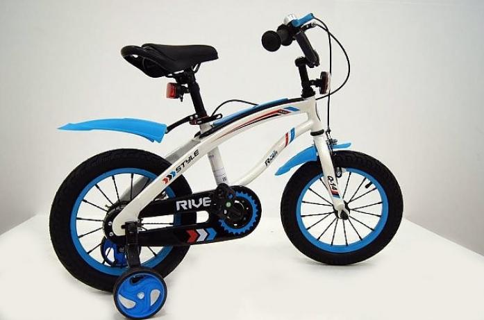 Велосипед двухколесный Rivertoys Q-12 синий
