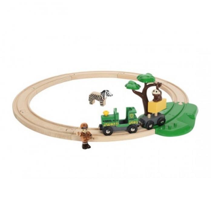 Железная дорога Brio Сафари 33720
