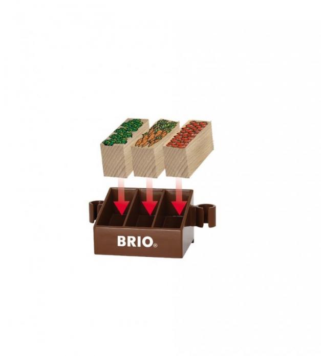 Игровой набор Brio Магазинчик 11 предметов 33946