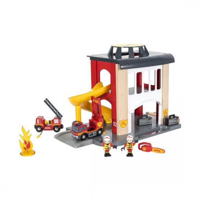 Железная дорога Brio Пожарное отделение 33833