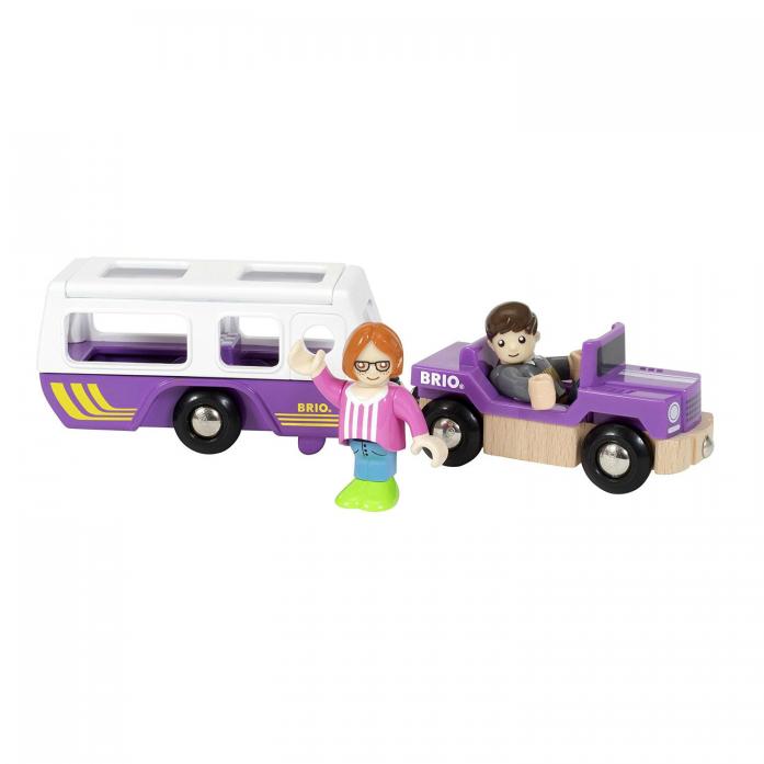 Игровой набор Brio Трейлер для путешествий 33949
