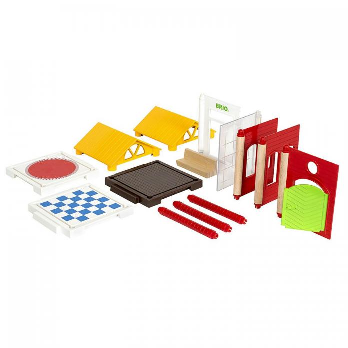 Игровой набор Brio Дополнительные детали для построения дома 14 предметов 33942