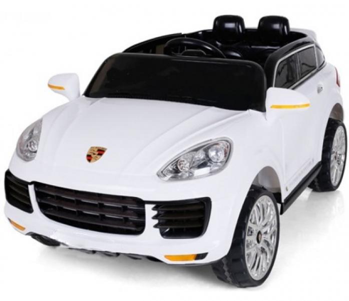 Детский электромобиль Rivertoys Porsche E008KX белый