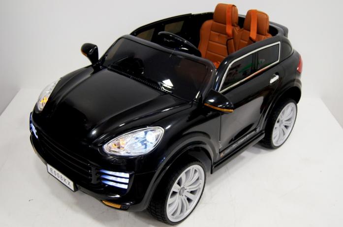 Детский электромобиль Rivertoys Porsche E008KX черный