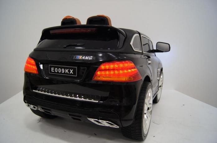 Детский электромобиль Rivertoys Mercedes E009KX черный