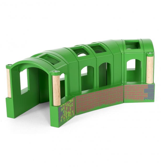 Железная дорога Brio Тоннель-трансформер из 3-х секций 33709