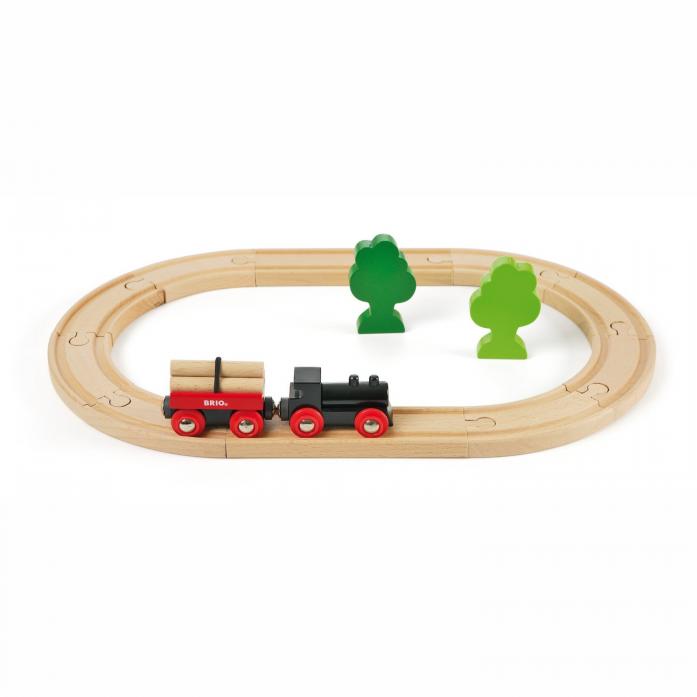 Железная дорога Brio с грузовым поездом 33042