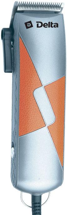 Машинка для стрижки DELTA DL-4048 серебристый с оранжевым