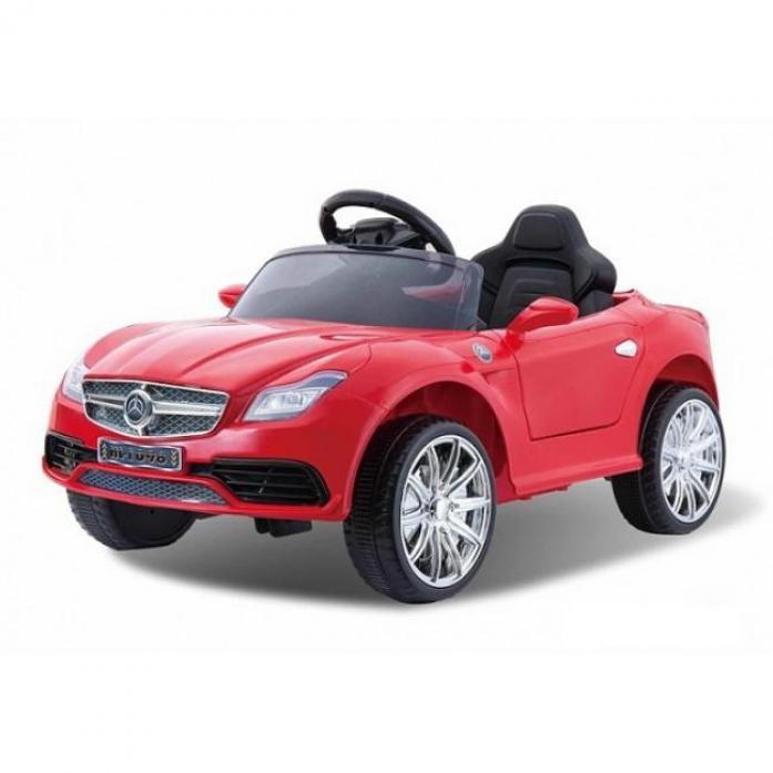 Детский электромобиль Rivertoys Mercedes o333oo красный