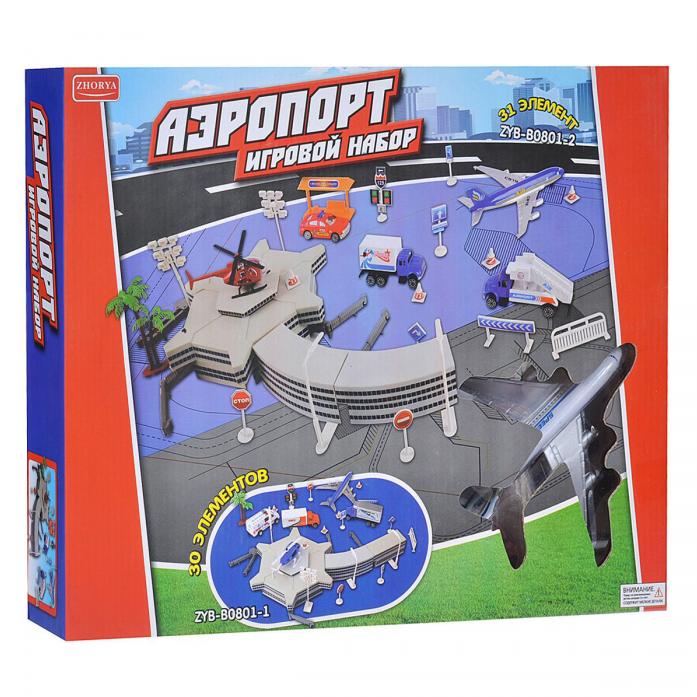 Игровой набор Zhorya Аэропорт Х75364